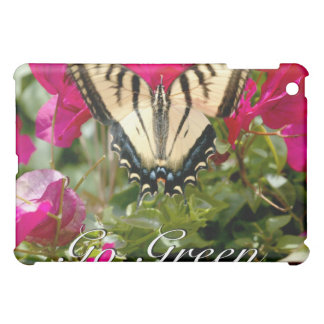 Butterfly Go Green case iPad Mini Cover