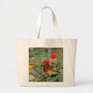 Butterfly - GO GREEN! Tote Bags