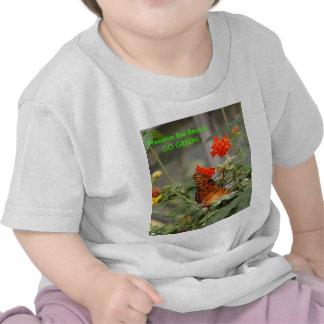 Butterfly - GO GREEN! Tshirt