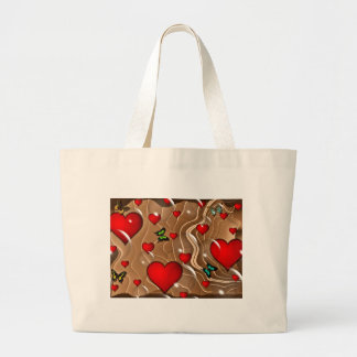 Butterfly & Gold Canvas Bags