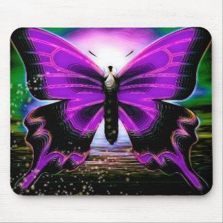 Butterfly Graffitis Mouse Mat