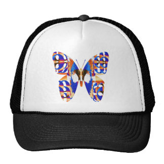 BUTTERFLY Graphic D esign Trucker Hats
