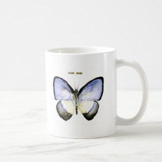 Butterfly: Green-Banded Blue Basic White Mug
