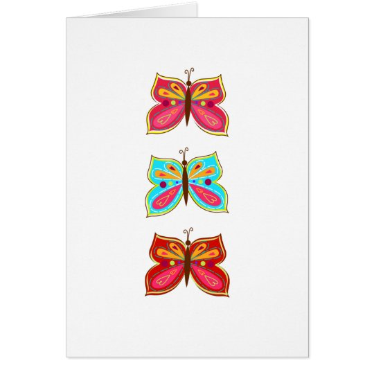 Butterfly Greeting Cards / Blank Inside