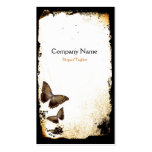 Butterfly Grunge Pack Of Standard Business Cards