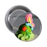Butterfly gumball critter buttons