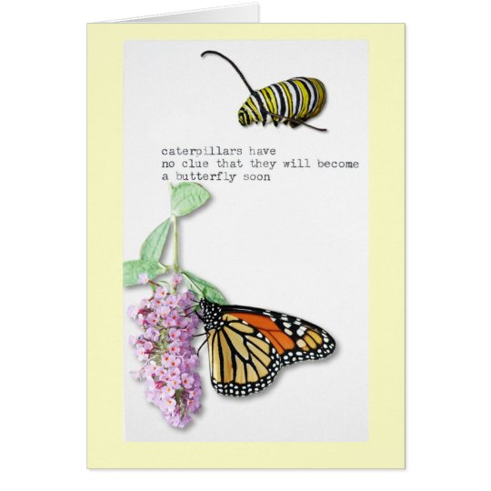 Butterfly Haiku Card