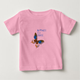 Butterfly Happiness is a Choice Infant T Shirt