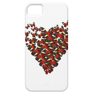 Butterfly heart case for the iPhone 5
