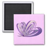 Butterfly Heart Design Magnet Refrigerator Magnet
