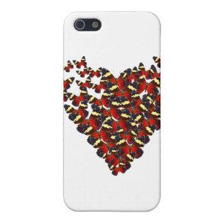 Butterfly heart iPhone 5 case