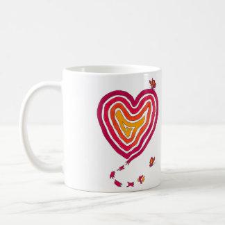 Butterfly Heart Mug