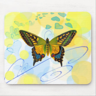 Butterfly Hearts Mousepad