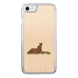 Butterfly Horse Colt Carved iPhone 7 Case