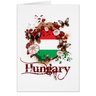 Butterfly Hungary Greeting Card
