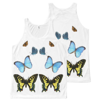 Butterfly image for All-Over-Printed-Unisex-Vest All-Over Print Tank Top