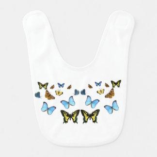 Butterfly image for Baby-Bib Bib