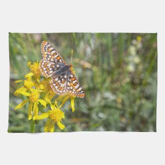 Butterfly in Aspen Kitchen Towel