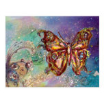 BUTTERFLY IN GOLD SPARKLES