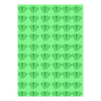 Butterfly in green pack of chubby business cards