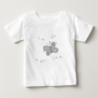 Butterfly in grey baby T-Shirt