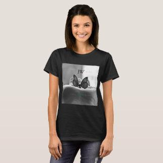 Butterfly in Hand - ShopJustWish Logo T-Shirt