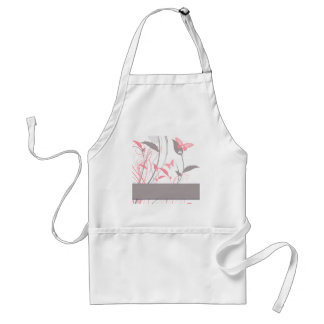 Butterfly in Honeysuckle Pink Aprons