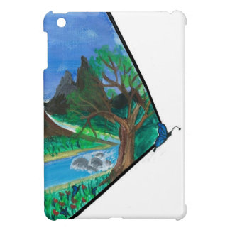 Butterfly in Mountains iPad Mini Cover