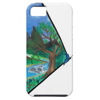 Butterfly in Mountains iPhone 5/5S Case