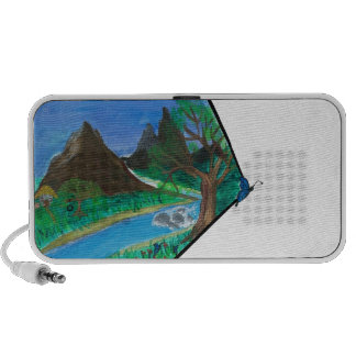 Butterfly in Mountains iPhone Speaker