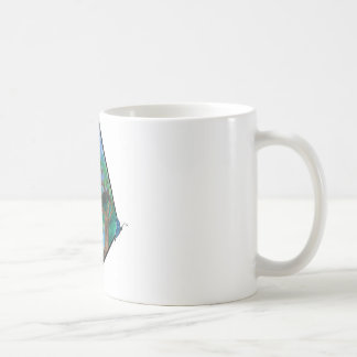 Butterfly in Mountains Mug