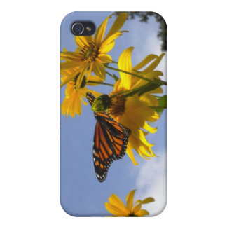 Butterfly in the Sky iPhone 4 case