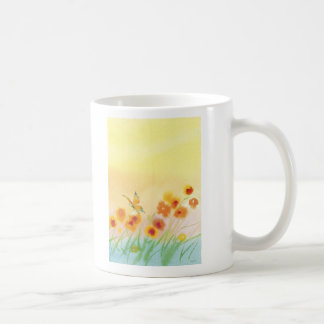 butterfly in wild field mugs