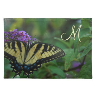 Butterfly Initial American MoJo Placemat