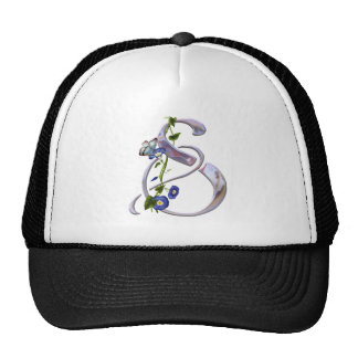Butterfly Initial S Cap