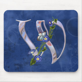 Butterfly Initial W Mouse Mat
