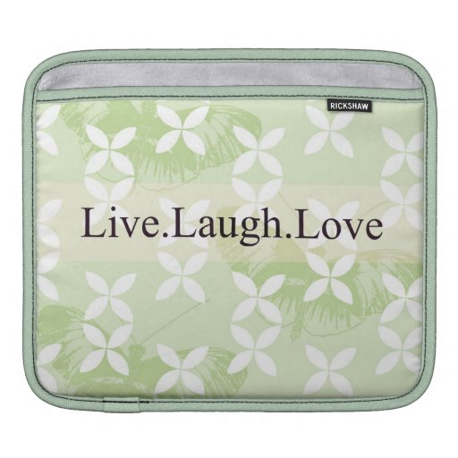 Butterfly Inspirations Live Laugh Love Sleeves For MacBook Air
