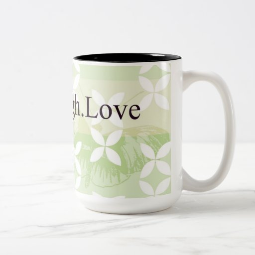 Butterfly Inspirations Live Laugh Love Mugs