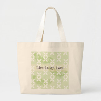 Butterfly Inspirations Live Laugh Love Bag