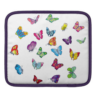 butterfly iPad pad Horizontal iPad Sleeve