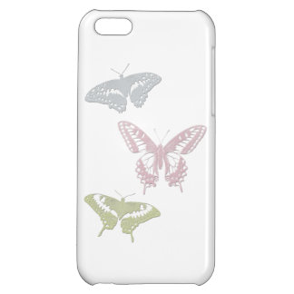 Butterfly iPhone 5C Case (pastel colors)