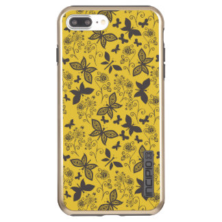 Butterfly iPhone 7 Plus DualPro Shine, Gold Incipio DualPro Shine iPhone 8 Plus/7 Plus Case