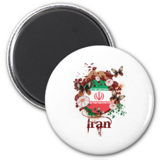 Butterfly Iran Magnet