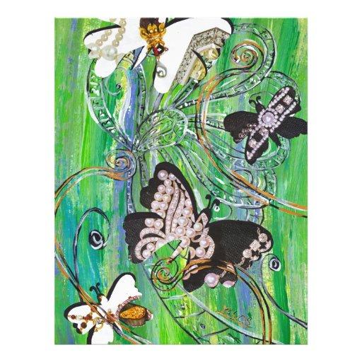 Butterfly Jewels Flyer