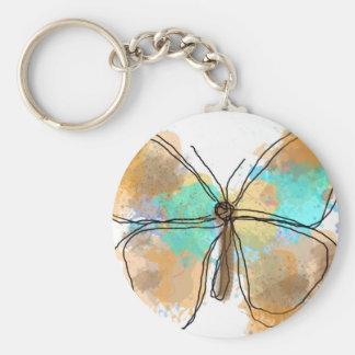 butterfly JPEG Keychain