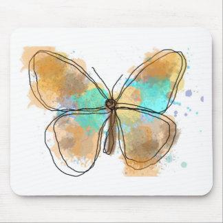 butterfly JPEG Mousepad