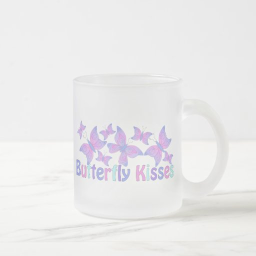 Butterfly Kisses - Blues Mugs