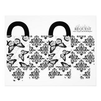 Butterfly Kisses Bold Favor Basket Template 4 Custom Flyer