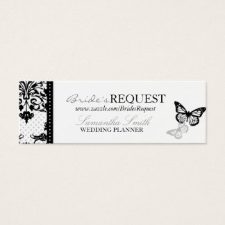 Butterfly Kisses Bold Skinny Business Card