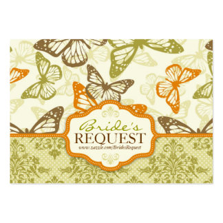 Butterfly Kisses Charming Business Card